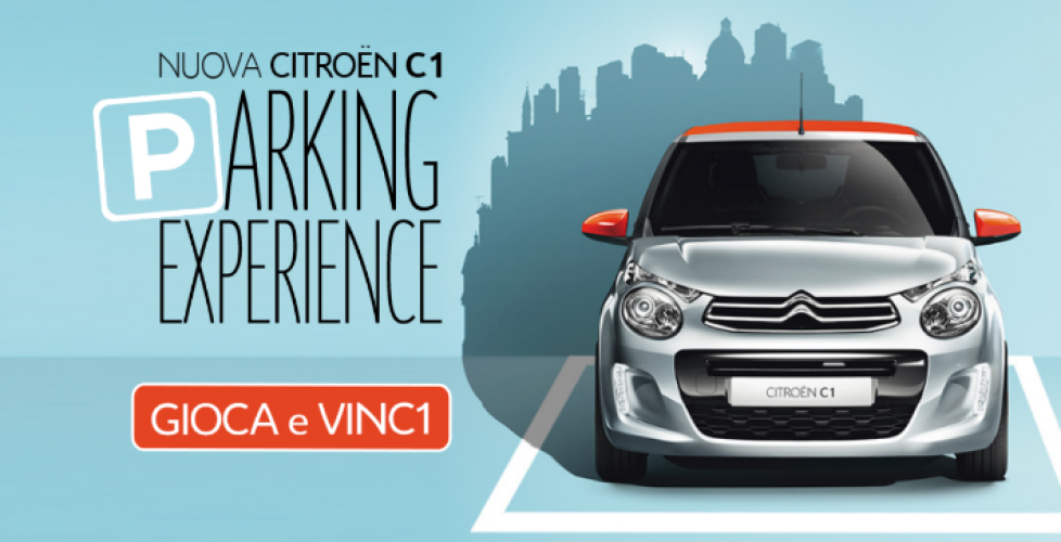 Citroën C1 Parking Experience: gioca con noi!