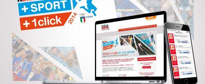 #SOSTENGOLOSPORT CON KINDER+SPORT +1CLICK 2014