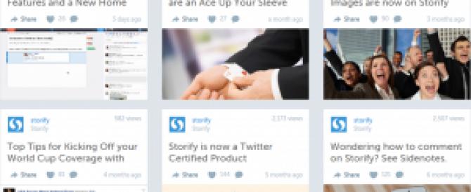 Storie multimediali? Semplice, con Storify