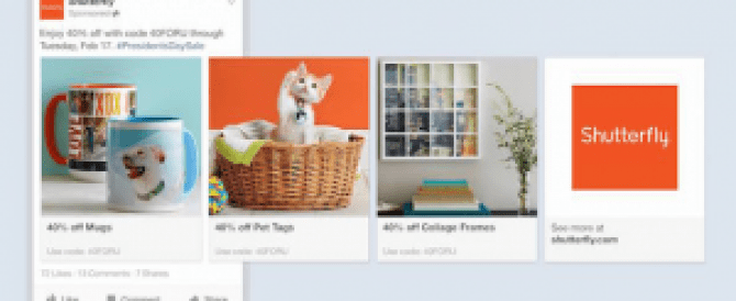 Facebook lancia i Product Ads