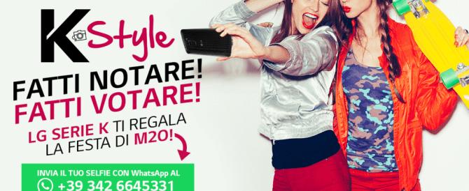 LG K-Style: il nuovo concorso a premi ideato da CrowdM