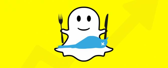 Snapchat cresce ancora e supera Twitter
