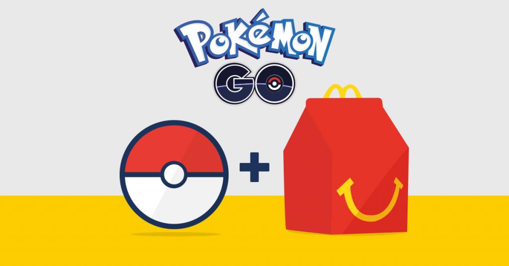 Pokémon GO e McDonald's…Insieme