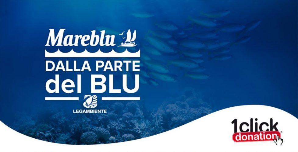 Mareblu sceglie CrowdM per la nuova campagna CSR: basta un click per aiutare Legambiente e il Mediterraneo