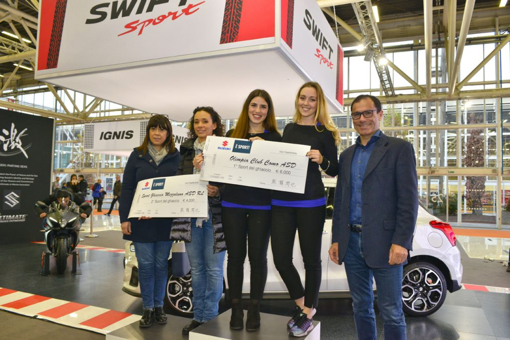 Suzuki è Sport vincitori FISG