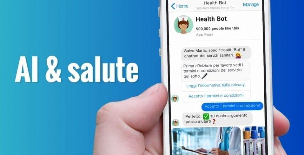 chatbot per il settore sanitario