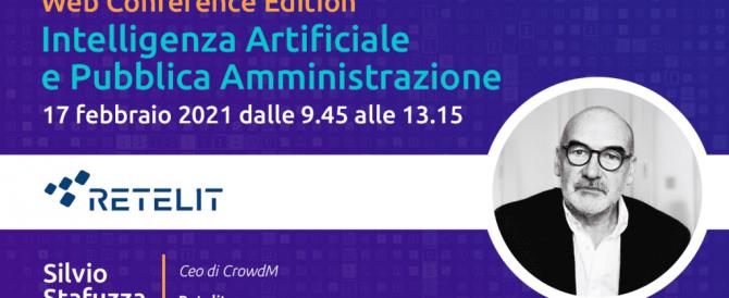 Webinar | Intelligenza Artificiale e Pubblica Amministrazione