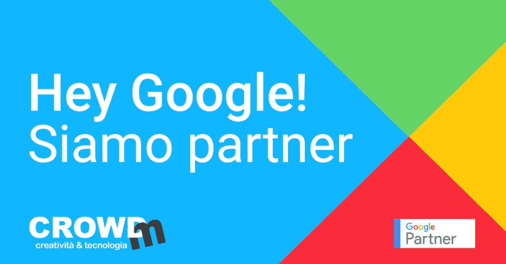 CrowdM si conferma azienda Google Partner