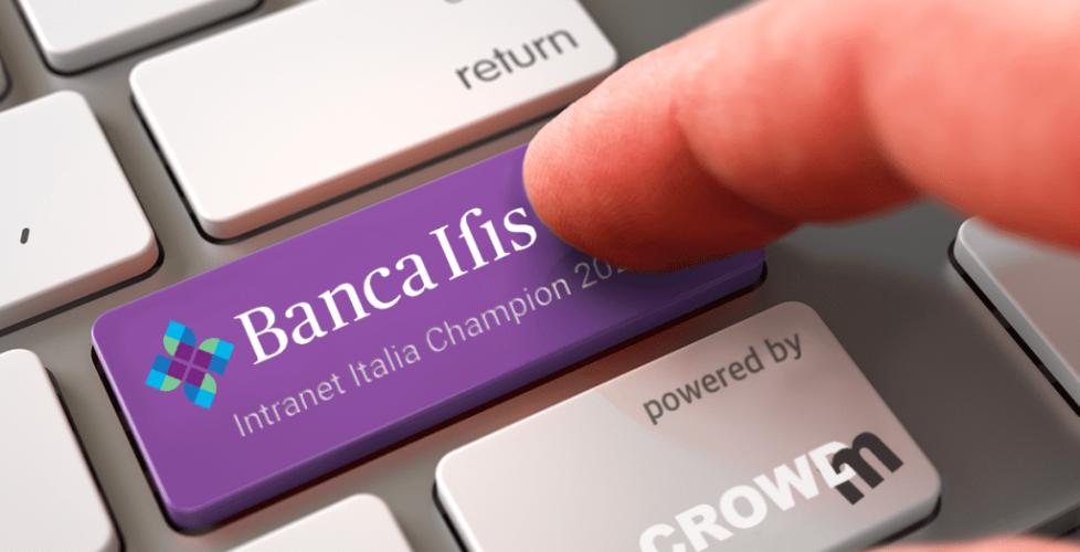 Alla Intranet di Banca Ifis il prestigioso premio Intranet Italia Champions (IIC) 2020