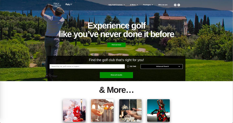 CrowdM sviluppa la comunicazione digital di Italy Golf & More per promuovere il golf italiano all'estero 2